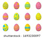 simple illustration of colorful ... | Shutterstock .eps vector #1693230097
