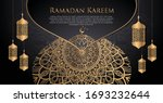 ramadan vector luxury black...