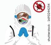 covid 19 or coronavirus concept.... | Shutterstock .eps vector #1693244254