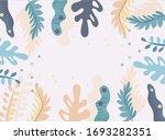 seamless floral pattern.... | Shutterstock .eps vector #1693282351