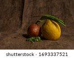 close up photo of a lemon ...