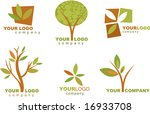 collection of nature icons and... | Shutterstock .eps vector #16933708