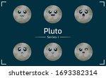 pluto planet vector for...   Shutterstock .eps vector #1693382314
