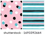 simple geometric seamless... | Shutterstock .eps vector #1693392664