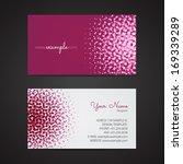 Business Card | Shutterstock vector #169339289
