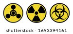 warning signs  symbols. danger  ... | Shutterstock .eps vector #1693394161