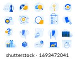 flat design concept icons... | Shutterstock .eps vector #1693472041
