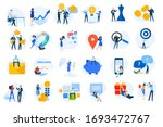 flat design concept icons... | Shutterstock .eps vector #1693472767