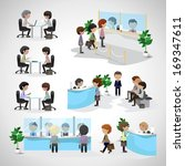 Business Peoples   Isolated On...