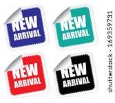 new arrival label  jpg. | Shutterstock . vector #169359731