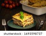 Classic Italian Lasagna Piece...