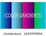 simple  modern gradient color ... | Shutterstock .eps vector #1693599004