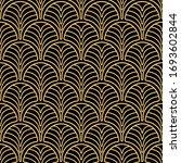 seamless pattern in art deco... | Shutterstock .eps vector #1693602844
