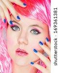 beauty mask | Shutterstock . vector #169361381