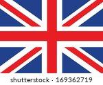 national flag of uk    the... | Shutterstock .eps vector #169362719
