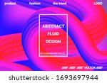 abstract 3d cover with bright... | Shutterstock .eps vector #1693697944