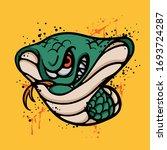 angry cobra character. animal...   Shutterstock .eps vector #1693724287