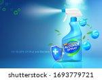 spray sanitizer anti virus and... | Shutterstock .eps vector #1693779721