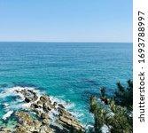 Deep Blue Ocean Of East Sea ...