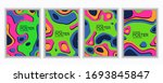 a colorful set of posters for... | Shutterstock .eps vector #1693845847