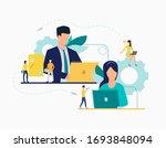 communication flat icon.... | Shutterstock .eps vector #1693848094