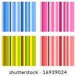 set of vector stripe schemes