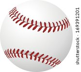 ball baseball vector | Shutterstock .eps vector #169391201
