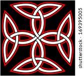 carolingian cross composed of...   Shutterstock .eps vector #169395005