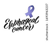vector esophageal cancer... | Shutterstock .eps vector #1693963237