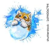 Beautiful Watercolor Drawing O...