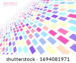 abstract geometric pattern... | Shutterstock .eps vector #1694081971