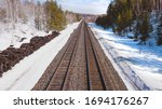 Staring Down The Railway Tracks
