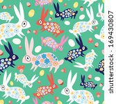 seamless pattern of colorful... | Shutterstock .eps vector #169430807