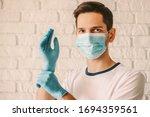 Confident Man Surgeon In...
