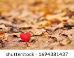 Heart On Autumn Leaves....