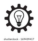 light bulb gear concept  | Shutterstock .eps vector #169439417