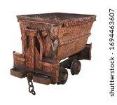 Old Rusty Minecart  Mine Cart ...