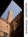 Torre Del Mangia   A Red Brick...