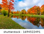 Alexander Park In Autumn ...
