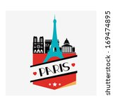 capital cities of europe... | Shutterstock .eps vector #169474895