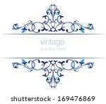 blue series is designed using... | Shutterstock .eps vector #169476869