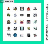 stock vector icon pack of 25...