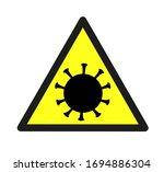 vector danger sign. danger sign ...   Shutterstock .eps vector #1694886304