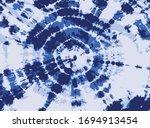 navy blue tie dye background | Shutterstock .eps vector #1694913454