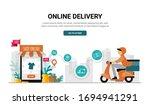 vector marketing digital...   Shutterstock .eps vector #1694941291