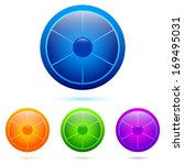 set of colorful segmented...   Shutterstock .eps vector #169495031