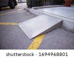 Ramp For Disabled Persons On...