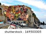Multicolor Houses Of Liguria....