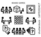 board games  people playing... | Shutterstock .eps vector #1695202417
