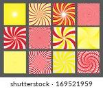 retro vintage hypnotic... | Shutterstock . vector #169521959